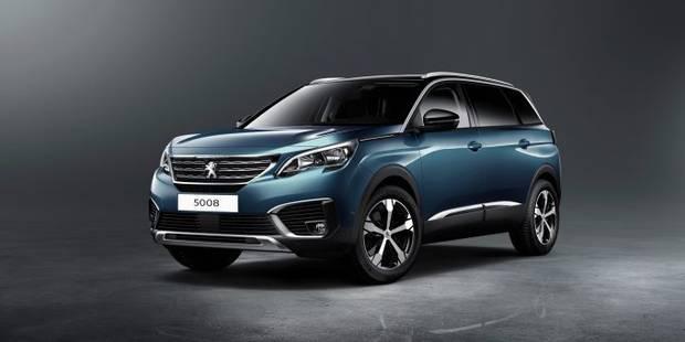 Le Peugeot 5008 devient crossover - La DH