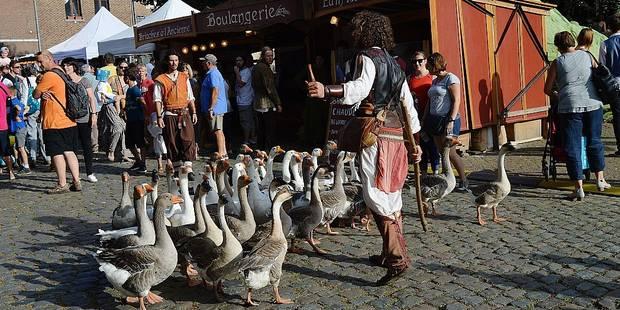 Plus de 20.000 visiteurs aux Rencontres médiévales à Braine-le-Château - La DH