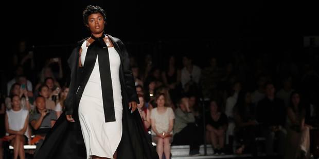 Fashion Week : des mannequins de toutes les tailles sur le podium d'un jeune designer - La DH