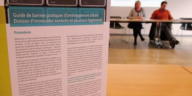 Namur: forte concentration des kots - La DH