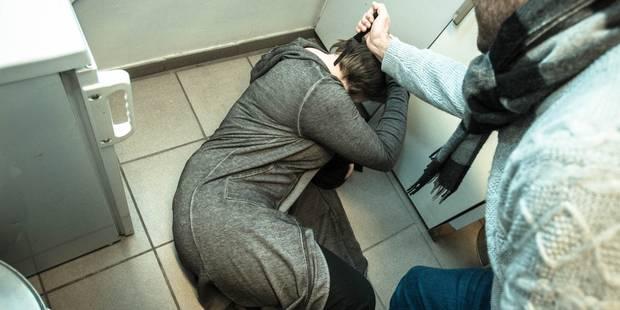 La Louvière : les 4 agresseurs tabassent la victime pour lui voler son scooter - La DH