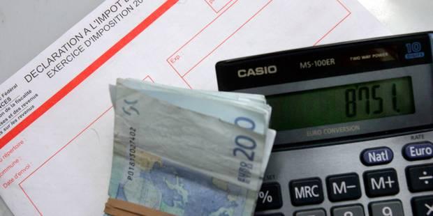 Déclaration d'impôts: près de 200.000 lettres de rappel - La DH