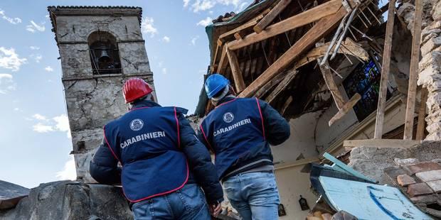 Italie: de nouveaux effondrements après une forte réplique - La DH