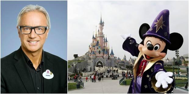 """Daniel, le Belge qui dirige Disneyland Paris: """"Au départ, moi, ici, je portais des assiettes"""" - La DH"""