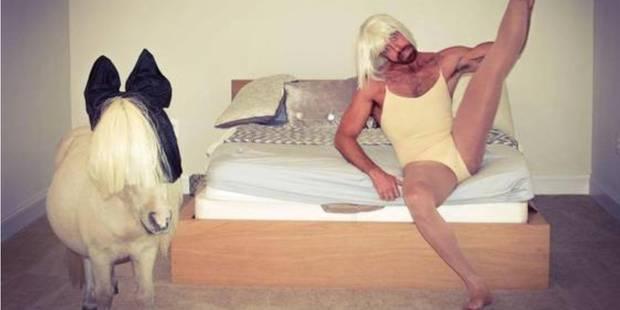 Avec son poney, il parodie Cheap Thrills de Sia - La DH