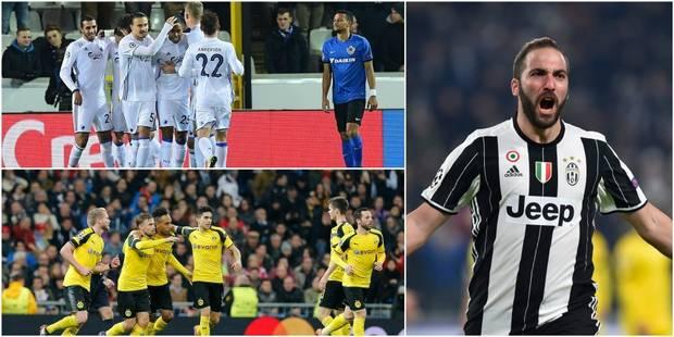Ligue des Champions: 0/18 pour Bruges, la Juve fait le travail, le Real est surpris par Dortmund et finit 2e de son grou...