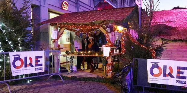 Mons: Pas de stand sur le Marché de Noël pour les étudiants - La DH