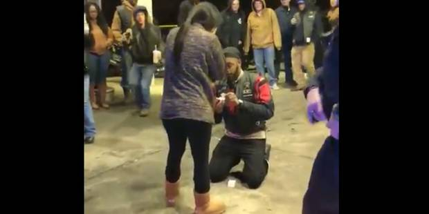 Voici la demande en mariage la plus stressante du monde (VIDEO) - La DH