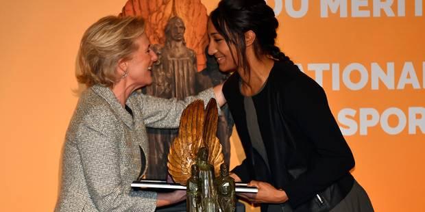 Nafissatou Thiam reçoit le trophée du Mérite sportif national des mains de la Princesse Astrid (PHOTOS + VIDEO) - La DH