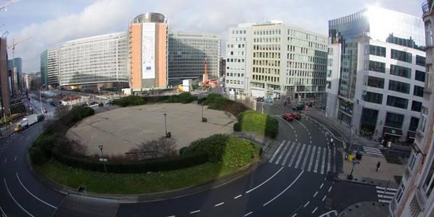Piétonnier Schuman: une hausse du trafic jusqu'à Evere - La DH