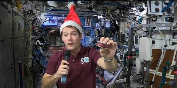 L'astronaute Thomas Pesquet mangera étoilé dans l'espace ce soir - La DH