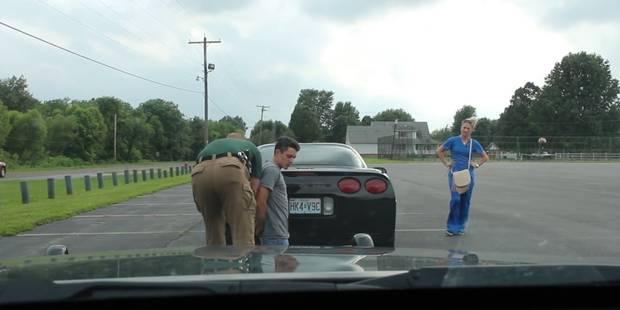 Ce policier arrête ce couple pour une raison inattendue - La DH