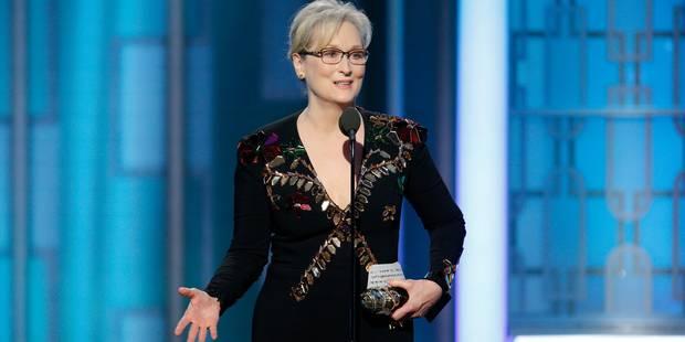 Quand Meryl Streep soutient Obama et tape sur Donald Trump (VIDEO) - La DH