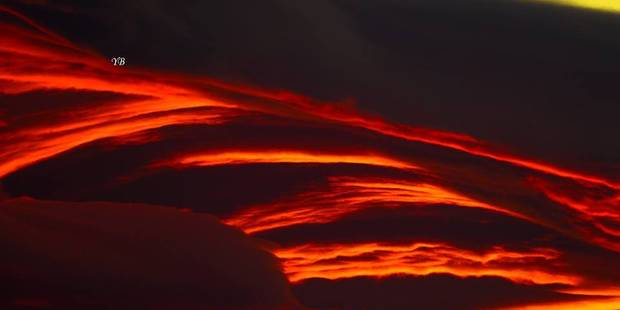 Un coucher de soleil exceptionnel dans le ciel catalan (PHOTOS) - La DH