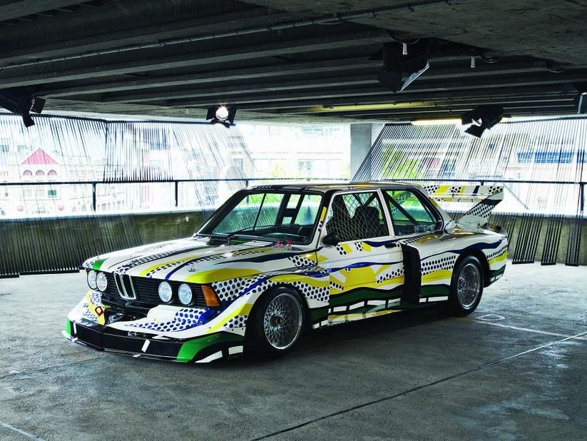1977 Roy Lichtenstein BMW 320i