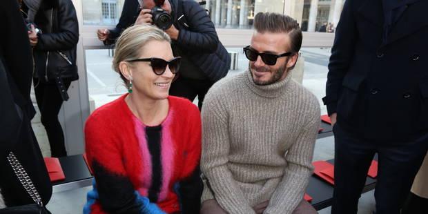 Kate Moss et David Beckham, invités VIP au défilé Louis Vuitton - La DH