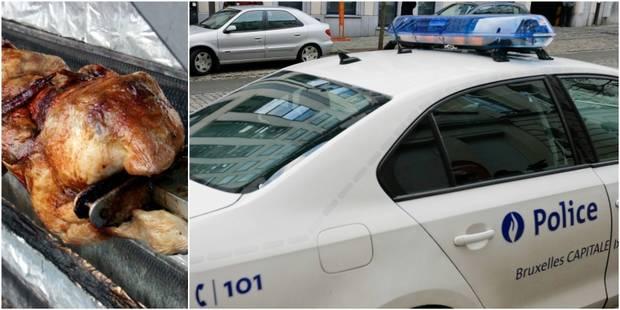 Racket à Bruxelles: des policiers grillés? pour un poulet rôti! - La DH