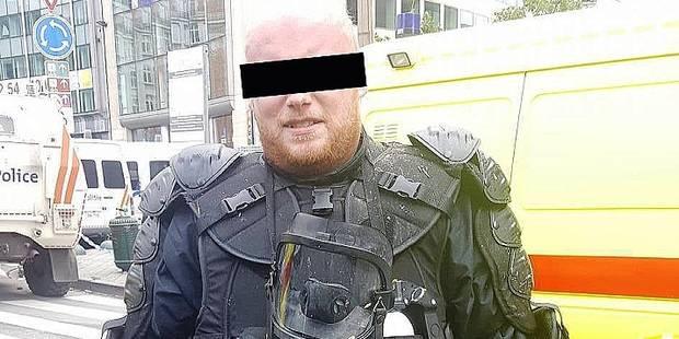 Bruxelles: Le policier présumé pyromane déjà libéré! - La DH