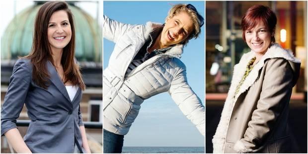 Sabrina Jacobs, Daniela Prepeliuc, Caroline Dossogne: les styles différents de vos stars de la météo - La DH