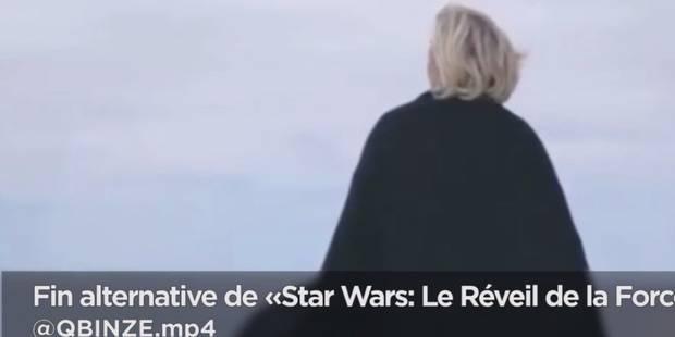 Le clip de campagne de Marine Le Pen parodié sur Internet (VIDEO) - La DH