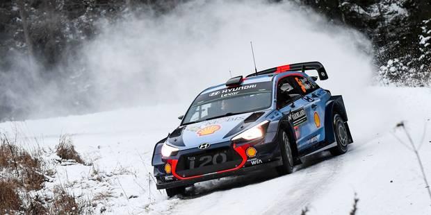 Rallye de Suède: Latvala prend la tête devant Neuville - La DH