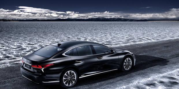 Lexus dévoile sa LS 500h hybride - La DH
