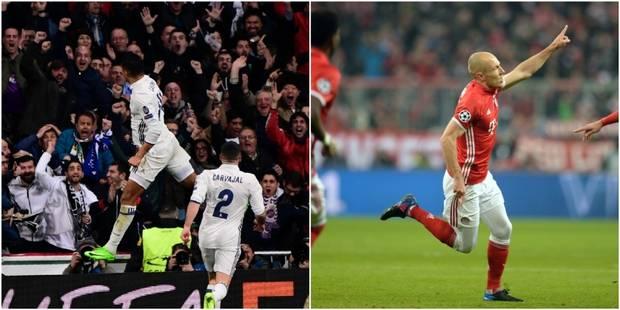 Le Real renverse Naples, le Bayern corrige Arsenal : découvrez les 10 buts en vidéos - La DH