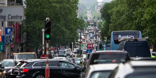Bruxelles, 8e ville la plus embouteillée en Europe - La DH