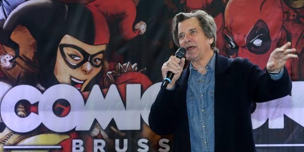 Dirk Benedict, alias Futé de L'Agence tous risques, a fait le show au Comic Con de Bruxelles - La DH