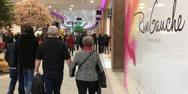 Charleroi : Rive Gauche a ouvert ses portes, les premières images de l'inauguration (VIDÉOS) - La DH