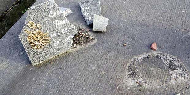 Le cimetière de Baulers ciblé par des vandales - La DH