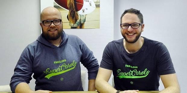 Rencontre avec les créateurs des t-shirts Klinches.be - La DH