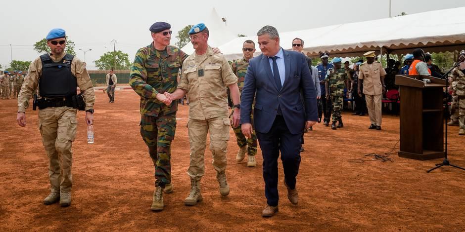 """L'armée belge, leader au Mali: """"Si la crise se propage, on peut craindre une exportation terroriste et un afflux de réfu..."""