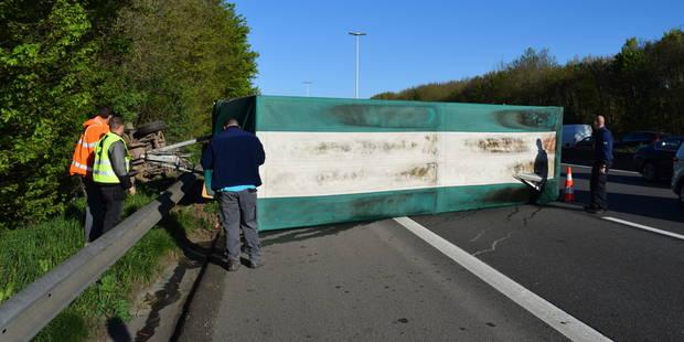 Spectaculaire accident sur l'E411 à Bierges (PHOTOS) - La DH