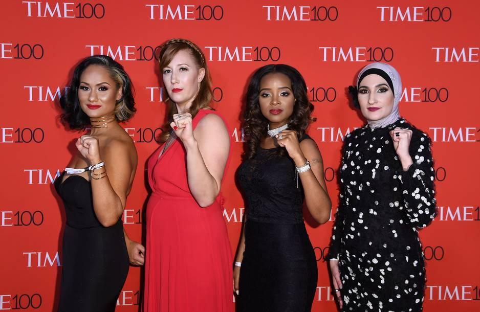 Carmen Perez, Bob Bland, Tamika D. Mallory et Linda Sarsour, les organisatrices de la Women's March