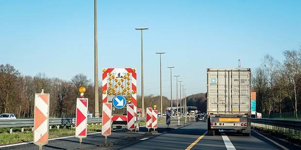 Seneffe : Le chantier de la E19/A7 reprend ce lundi - La DH