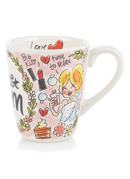 Mug à thé spécial maman, debijenkorf.be, 8.95€