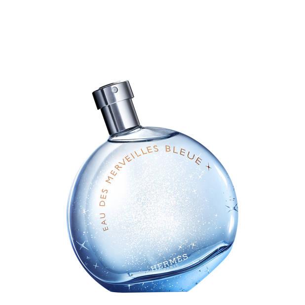 Parfum Eau des Merveilles Bleue de Hermès. 50 ml, 88€; 100 ml, 124€
