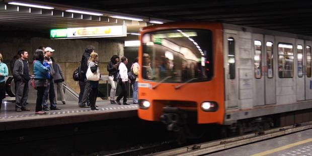 Stib : La circulation des métros brièvement interrompue ce matin entre Trône et la Gare du Midi - La DH