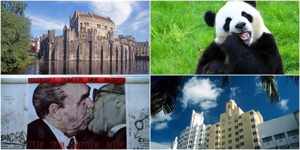 Les 10 sites touristiques les plus visités en Belgique et dans le monde - La DH