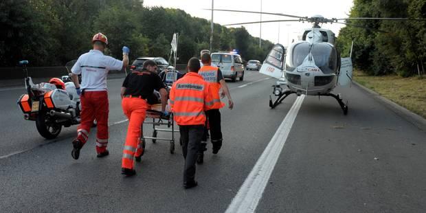 Un grave accident sur la E411 fait un mort et des blessés graves - La DH
