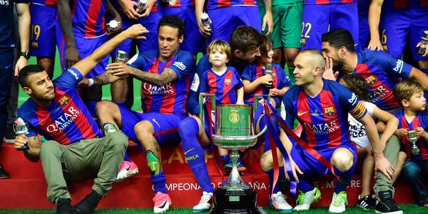 Le Barça sauve sa saison en s'offrant la coupe du Roi aux dépens d'Alaves (3-1) - La DH
