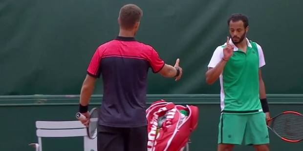 Roland-Garros: Ca a chauffé entre Klizan et Lokoli - La DH