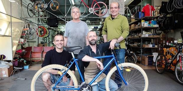 Bruxelles: Toujours plus de vélos réparés par Cyclo - La DH