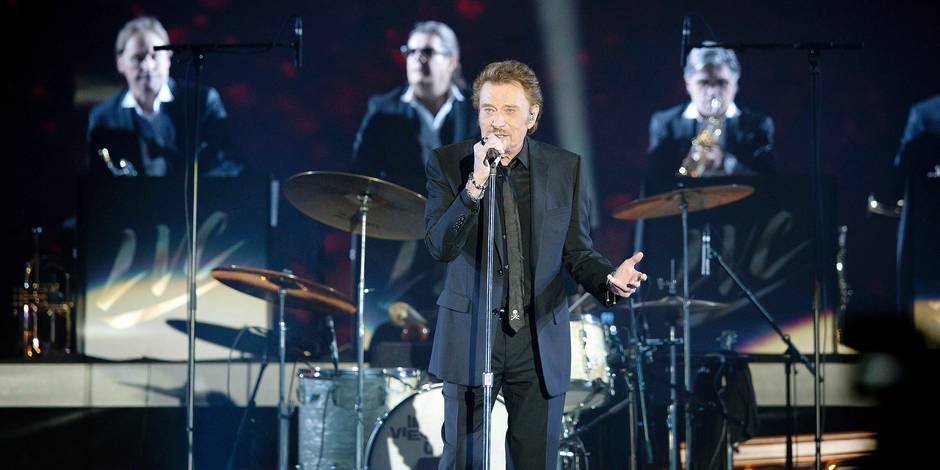 Quand Jacques Dutronc embrasse Johnny Hallyday en direct
