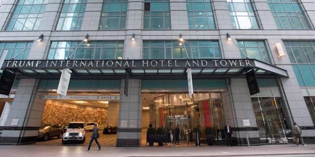 Quand Trump récolte des fonds pour Trump au Trump Hotel - La DH