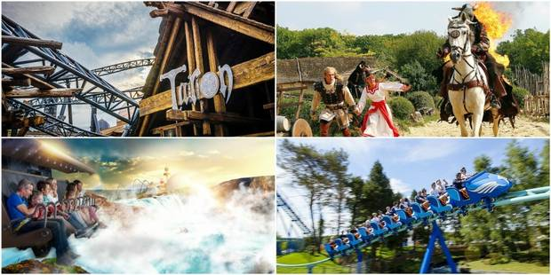 Les parcs d'attractions à l'étranger ont la cote auprès des Belges: nos conseils (pas trop loin de chez nous) - La DH