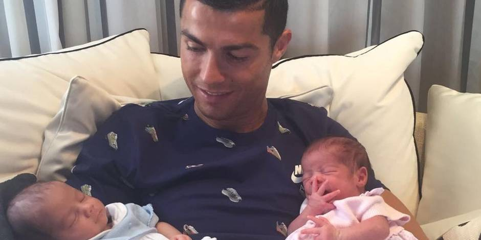 Cristiano Ronaldo aurait payé 200.000€ pour ses jumeaux