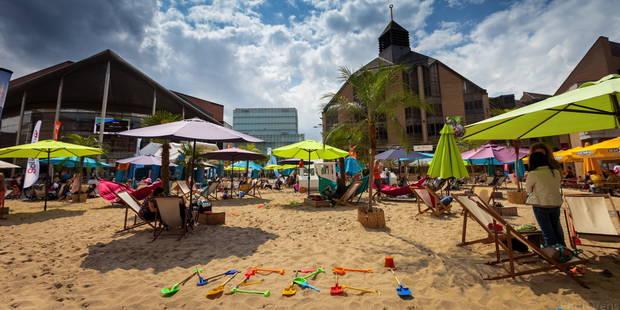 La plage sans quitter Louvain-la-Neuve - La DH