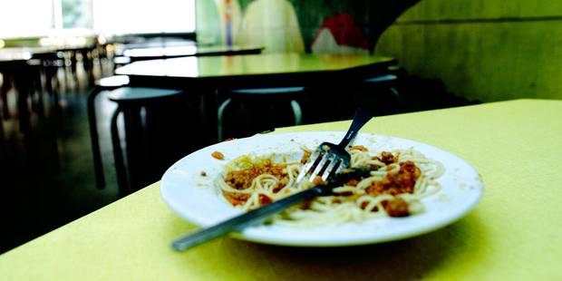 Wallonie picarde : Le gaspillage alimentaire, fléau des réfectoires - La DH